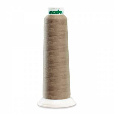 Aerolock Polyester Premium Serger Thread 2000yd Dark Beige