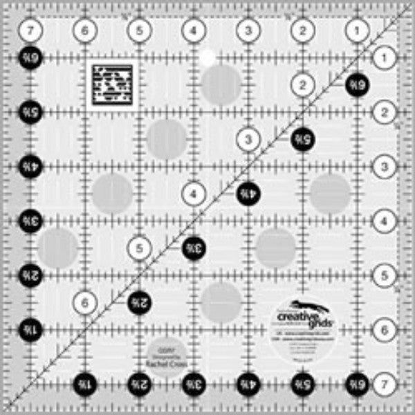 Creative Grids 7 1/2 Square Ruler