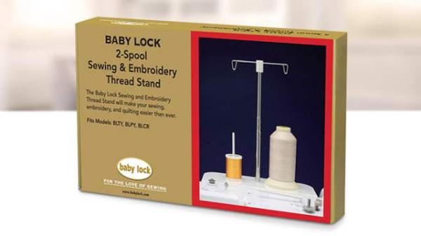 Baby Lock 2 Spool Sewing And Embroidery Thread Stand