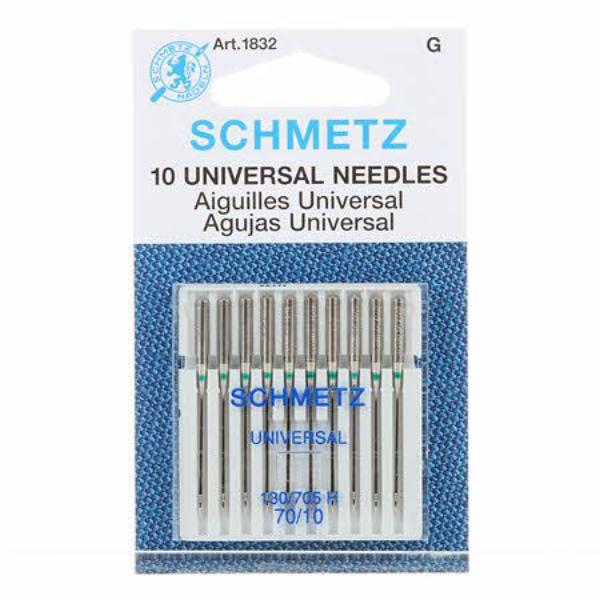 Schmetz Universal Machine Needle Size 10/70 Pack-10