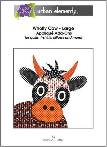 Applique Elementz Wholly Cow Dotz-Large