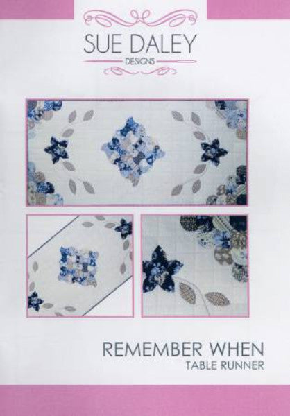 English Paper Piecing Remember When Table Runner