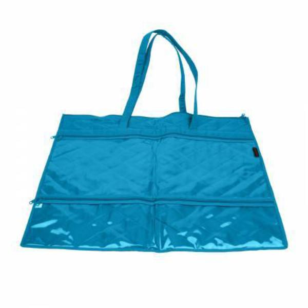 "Large Mat Carrier 18""x 24"" Aqua"