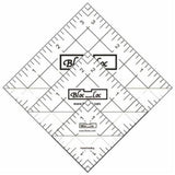 "Bloc Loc Half Square Triangle Ruler Set 1.5"", 2.5"", 3.5"""