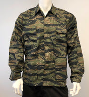 BACKBONE Mens Battle Dress Uniform BDU Shirt Camouflage Tactical Top Shirt Jacket