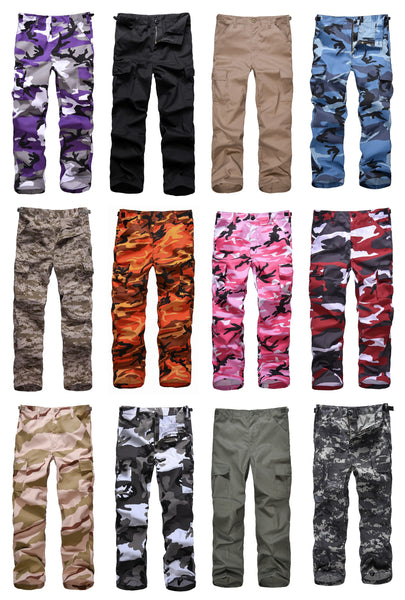 BACKBONE Kids Boys Girls Military Army Ranger Camping outdoor cargo pants trousers