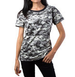 Backbone Womens Ladies Army Outdoor Gym Training Running Boot Camp Camo T-Shirt Top Tee