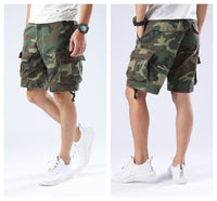 Mens Army Military Paratrooper Shorts Outdoor Work Camping Fishing Casual Cargo Shorts