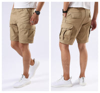 Mens Casual Cargo Shorts Army Military BDU Shorts - Solid Colors