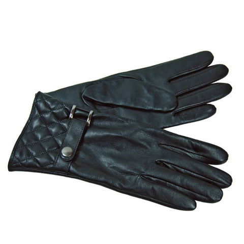 Quilted Strap Glove