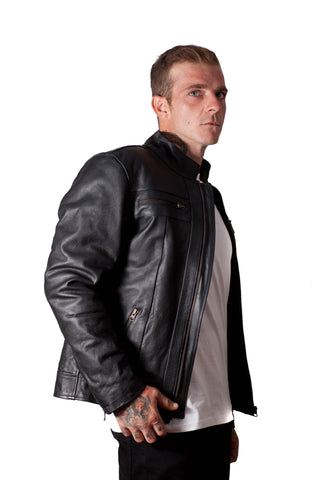 Motocross Leather Jacket