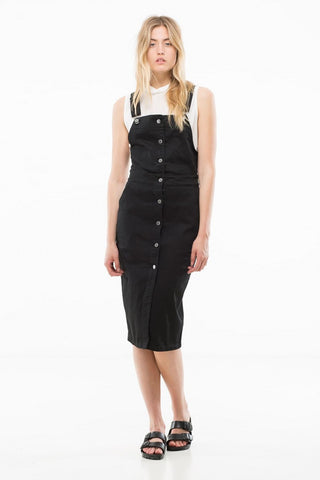 Nico Pinafore Black
