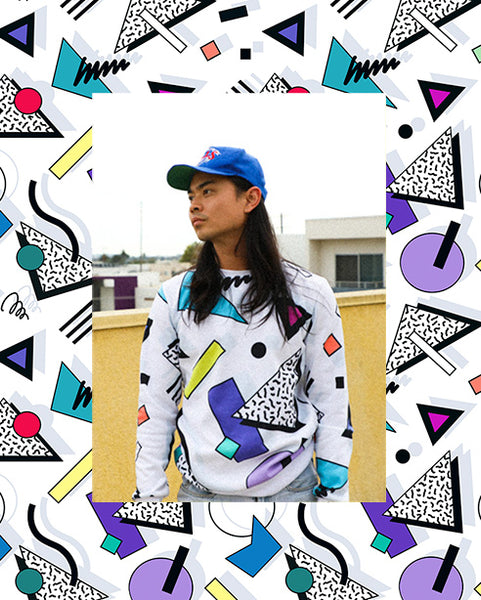 yoko honda vaporwave 80s memphis 90s retro clothing fashion