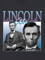 retro abe lincoln cotton t-shirt