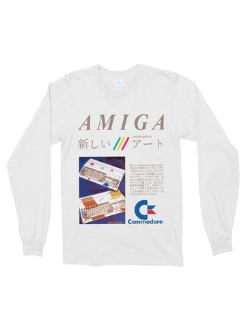 amiga cotton long sleeve t