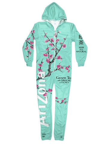 arizona green tea onesie