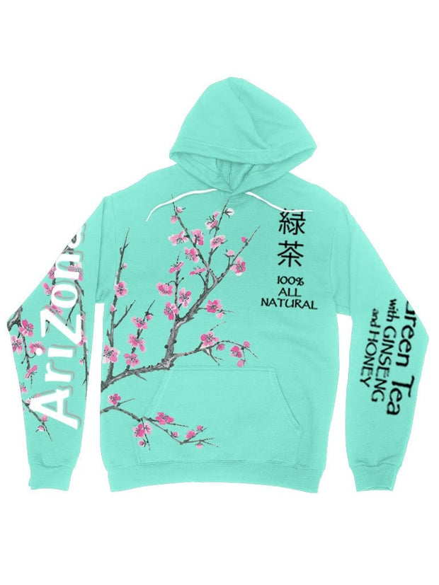 arizona green tea hoodie