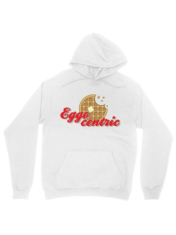 eggocentric cotton hoodie