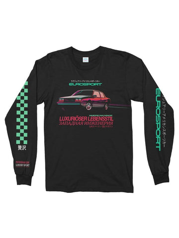 eurosport cotton long sleeve t