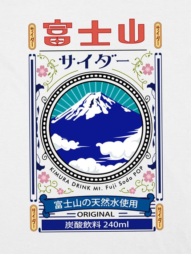 fuji soda pop cotton tee