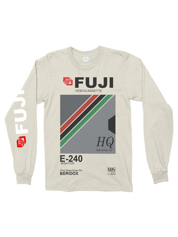 fuji vhs long sleeve t