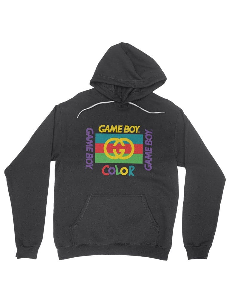 quality design fashionablestyle the latest gucci x gameboy color cotton hoodie