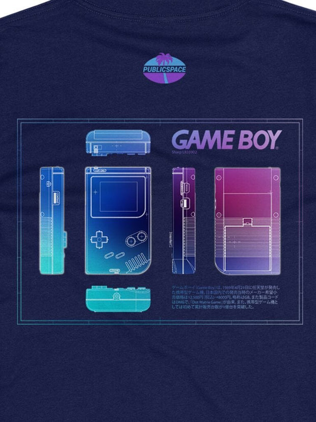 gameboy drip t-shirt