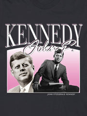retro jfk cotton t-shirt