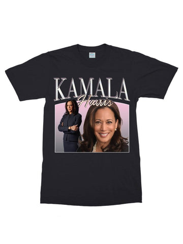 retro kamala harris cotton t-shirt