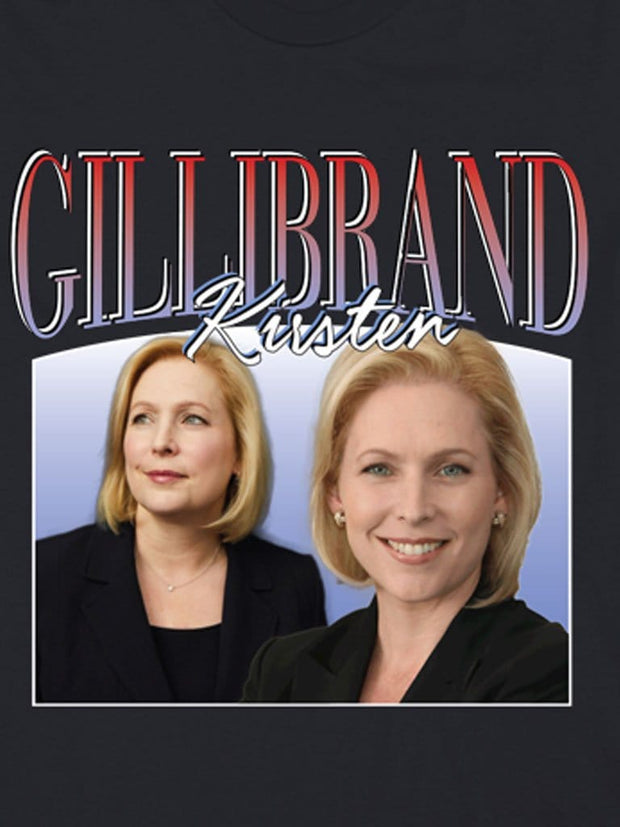 retro kirsten gillibrand cotton t-shirt