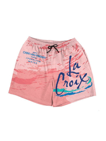 la croix cran-raspberry swim shorts