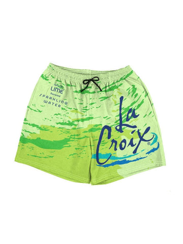 la croix lime swim shorts