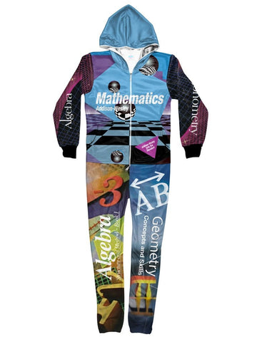 90s math textbook onesie
