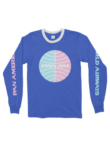 pan am long sleeve t
