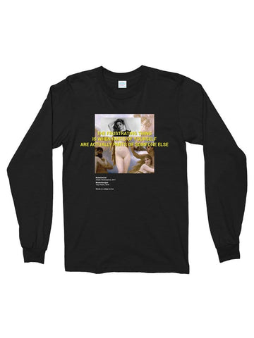 parts of yourself cotton long sleeve t