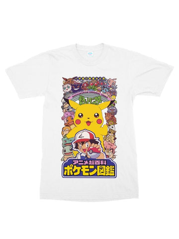 pokemon vhs cotton t-shirt