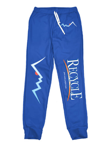 recycle aquafina joggers