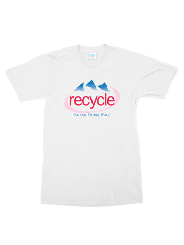 recycle evian t-shirt