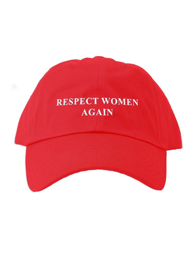 respect women again cap