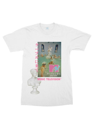 MTV x roman bathhouse cotton t-shirt