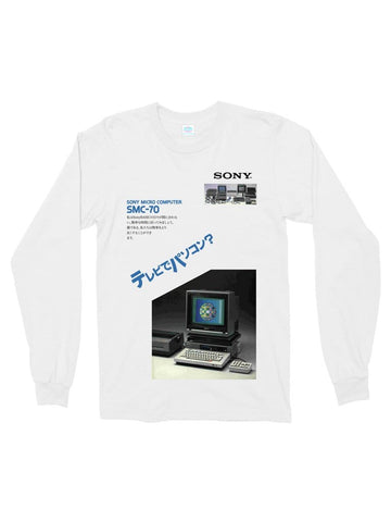 sony micro cotton long sleeve t