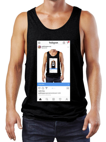 sponsored post tank top