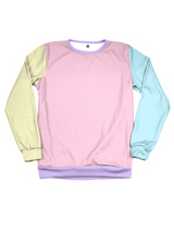 Pastel Lollipop Sweatshirt - Public Space xyz - vaporwave aesthetic clothing fashion, kawaii, pastel, pastelgrunge, pastelwave, palewave