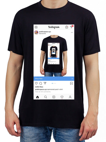 sponsored post t-shirt