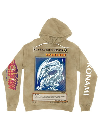 blue-eyes white dragon hoodie