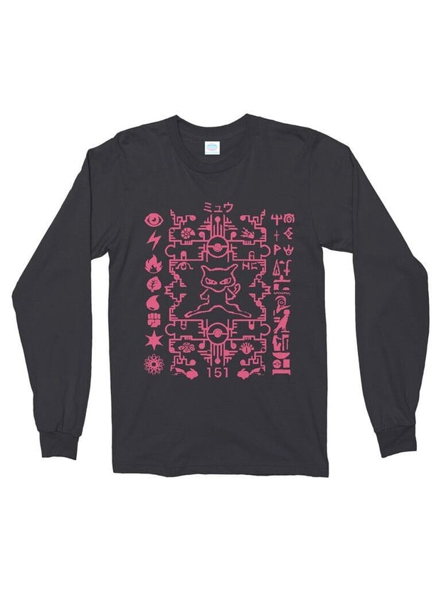 ancient mew long sleeve cotton tee