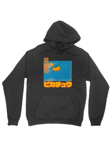 flying pika cotton hoodie