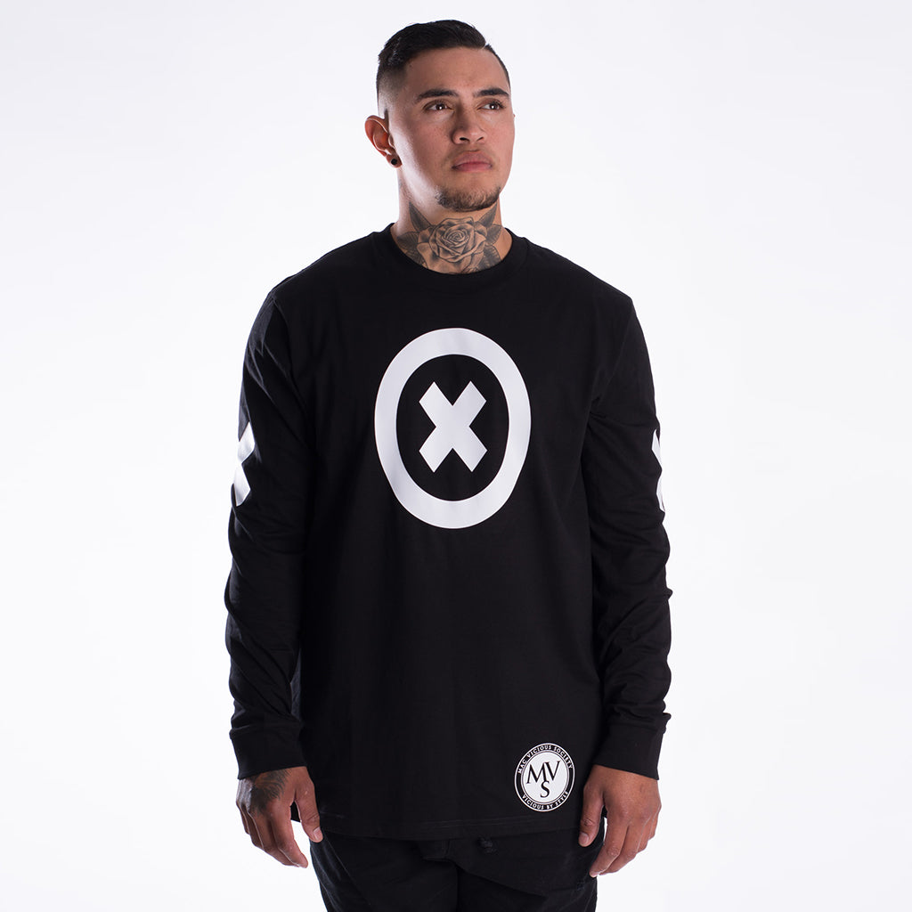 XoX black long sleeve tee