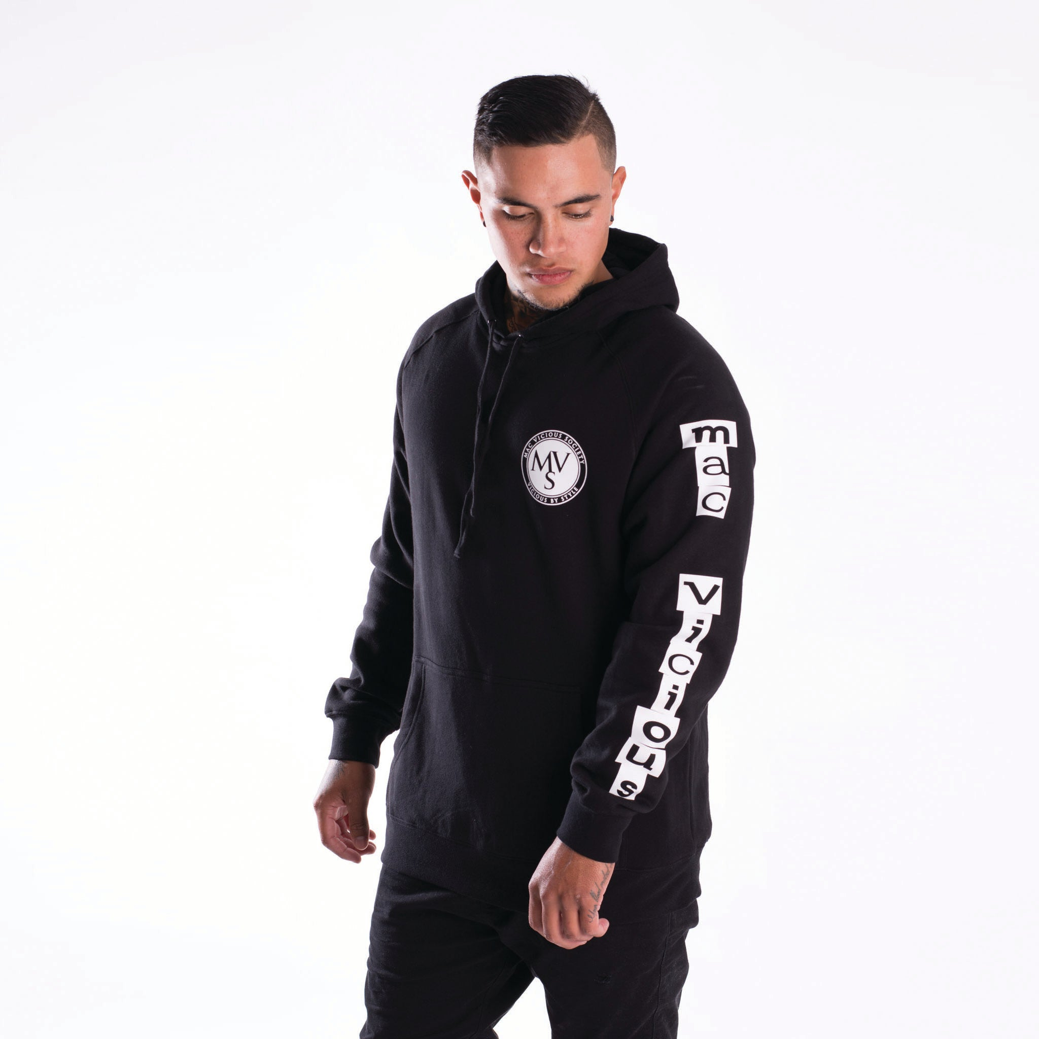 Punk-it long sleeve hoodie