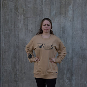 Womens eMViouS crewneck